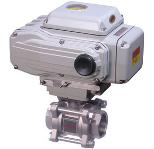 2-Way Actuated Ball Valves