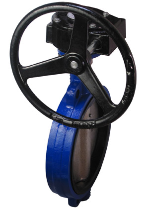 3 Wafer Style Butterfly Valve W//EPDM Seals and 10 Position Handle