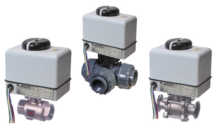 V4 Series Compact Industrial Valve Actuators