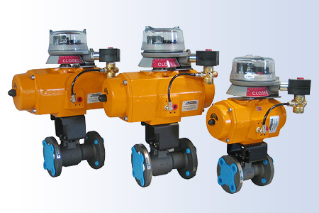 Custom Full Port Ball Valve with Limit Switch