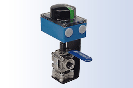 Custom Mounting Kit: Custom 3-Way Ball Valve with Limit Switch