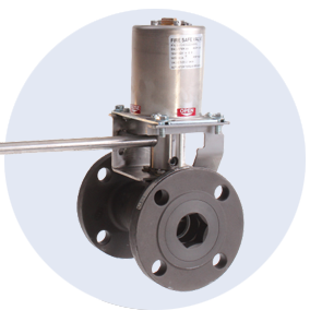 FM Fire-Safe Thermal & Electro-Thermal Shutoff Valve Fusible Link Flanged Ball Valve Assembly