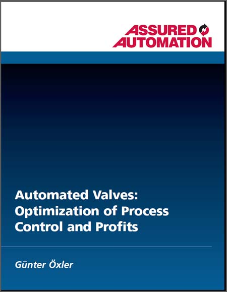 Automated Valves: Optimization of Process Control and Profits