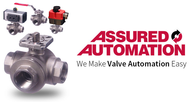 Actuated Stainless Steel 3 Way Ball Valves 3 Way