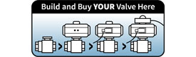 Configure & Buy PTP Series PVC 3-Way Ball Valves Online