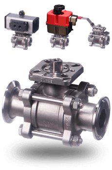 stainless steel ball valve for steam