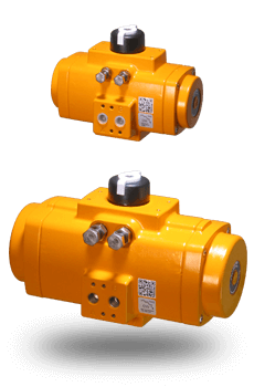 Rack and Pinion Pneumatic Valve Actuators
