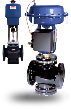 Actuated High Capacity Globe Valves