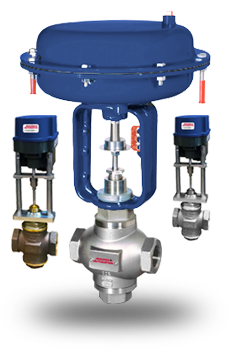 Precision 2-way Globe Control Valves
