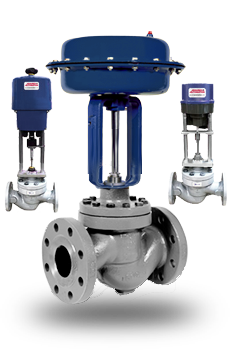 Actuated Precision Globe Control Valves