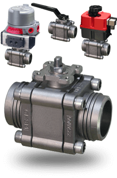 actuated Fire Safe Ball Valves