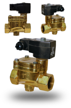 solenoid valves for steam control