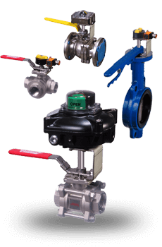 Manual Valves With Limit Switches