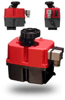 Multi-voltage Electric Valve Actuators