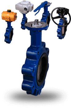Manual and Actuated Resilient Seated Butterfly Valves