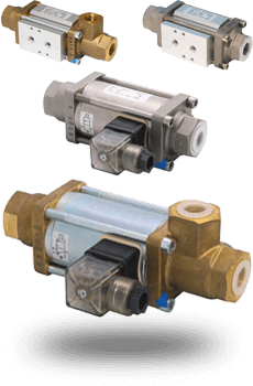 VAX series actuated coaxial valves