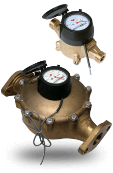 WM-NLD Lead Free Brass Positive Displacement Water Meter