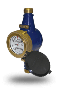 WM Series bronze water meters