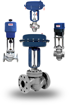 Actuated Globe Valves