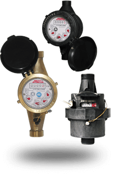 Assorment of Water Meters for HVAC