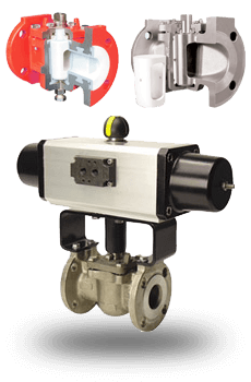 actuated Plug Valves