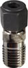"1/4"" NPT x 1/4"" compression straight fitting"