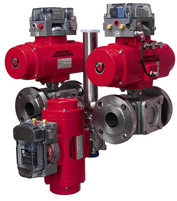 Tandem 3-way Valve Manifold with Drain Valve