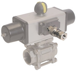 FireChek pneumatic shut-off valve