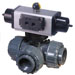 PTP Series PVC 3-Way Ball Valves