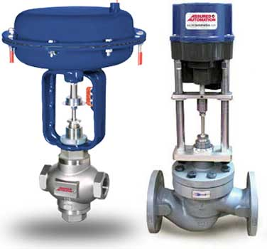 modulating control valves how they workrising stem globe style control valves