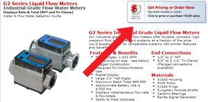 order water or flow meters online