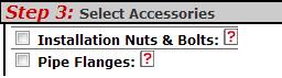 Step 3: Valve Accessories