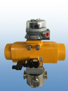 Custom 3 Way Ball Valve