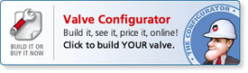 Configure your VA Series valve