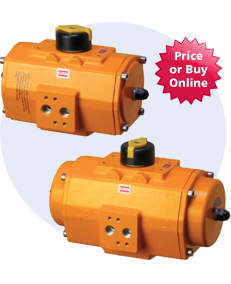 E Series Pneumatic Actuators