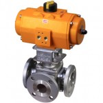 Multiport Flanged Ball Valve