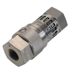 heat activated pneumatic shut-off valve