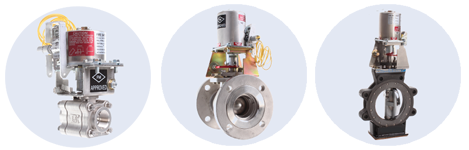 FM Approved Fire-Safe Thermal & Electro-Thermal Shutoff Valves with Fusible Links