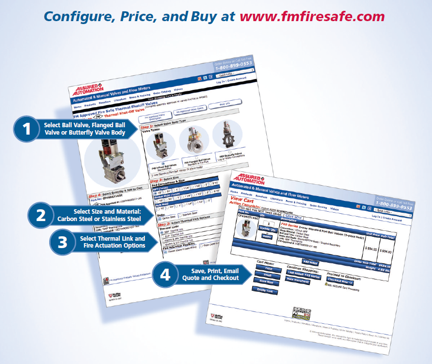 FM Fire-Safe Configure Price Quote
