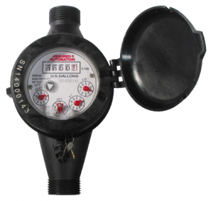 WM-PC Lead Free Plastic Water Meter