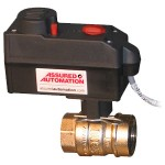 Compact motorized brass and lead free brass ball valves