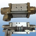 High pressure coaxial valve