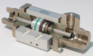 3 way compact automated valve
