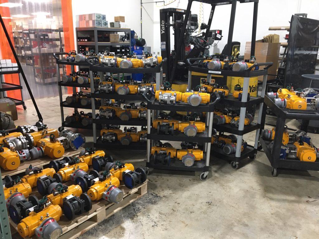 Emergency shutdown valves