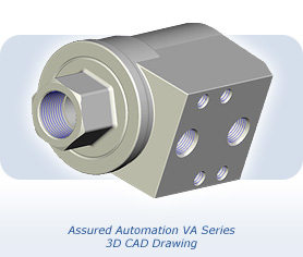 Assured Automation VA Series 3D CAD Drawing