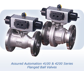 Assured Automation's 4000 Series Flanged Ball Valves
