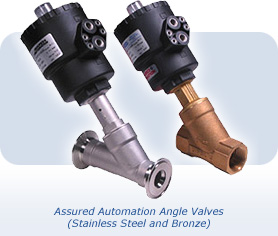 Assured Automation Angle Valves
