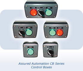 Assured Automation CB Series Control Boxes