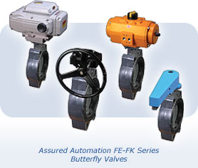 Polypropylene and PVC Butterfly Valves by Assured Automation
