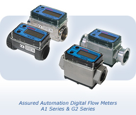Assured Automation's A1 and G2 Series Digital Flow Metres